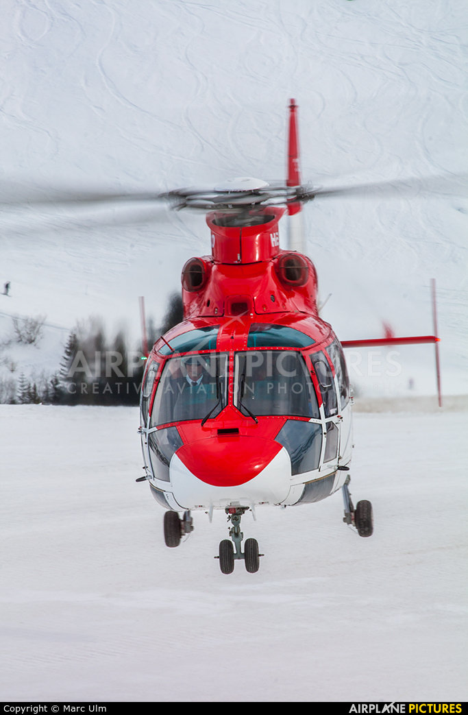 Heli Air Monaco 3A-MCM aircraft at Courchevel