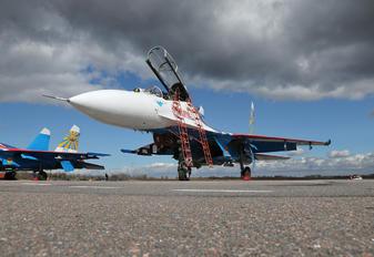 "20 - Russia - Air Force ""Russian Knights"" Sukhoi Su-27UB"