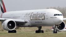 A6-EGO - Emirates Airlines Boeing 777-300ER aircraft