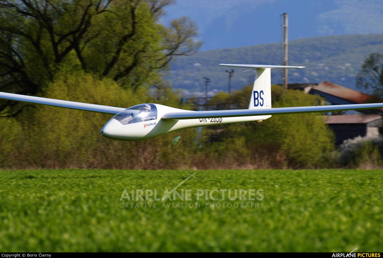 Private OK-2858 aircraft at Prievidza