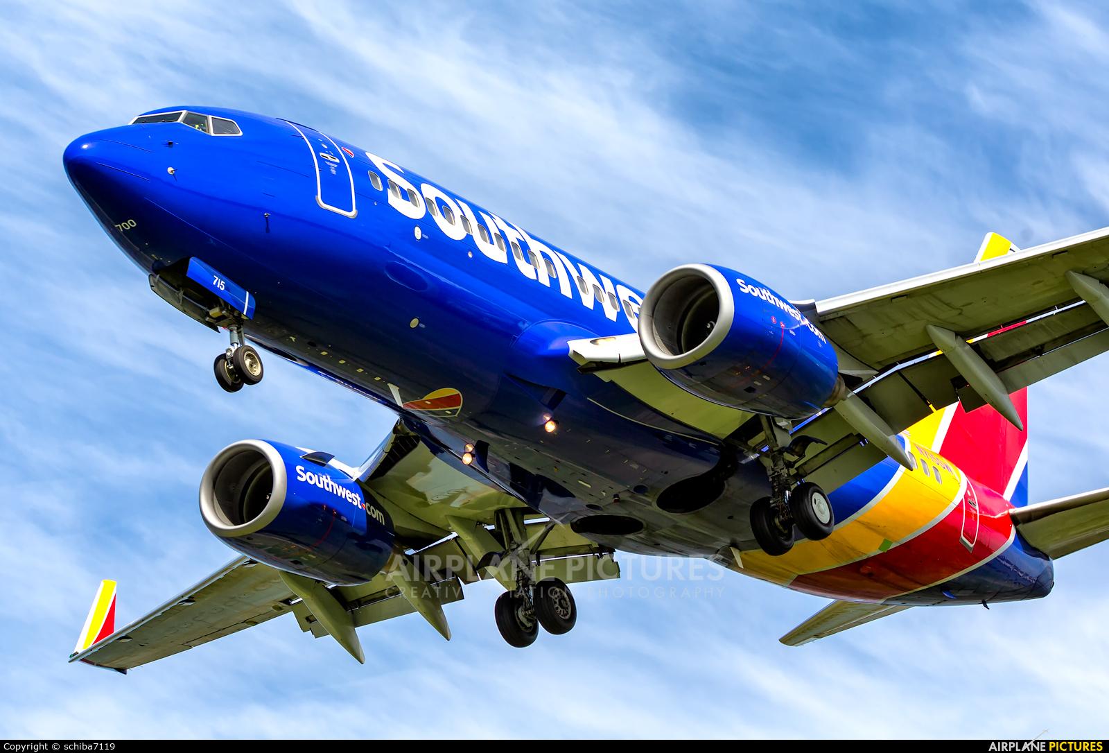 Southwest Airlines N715SW aircraft at Washington - Ronald Reagan National
