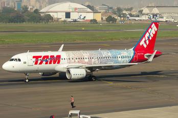 PR-TYH - TAM Airbus A320