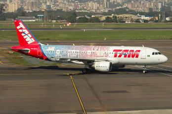 PR-MHS - TAM Airbus A320