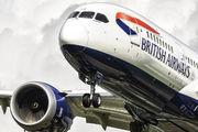 G-ZBJD - British Airways Boeing 787-8 Dreamliner aircraft