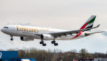 A6-EKT - Emirates Airlines Airbus A330-200 aircraft