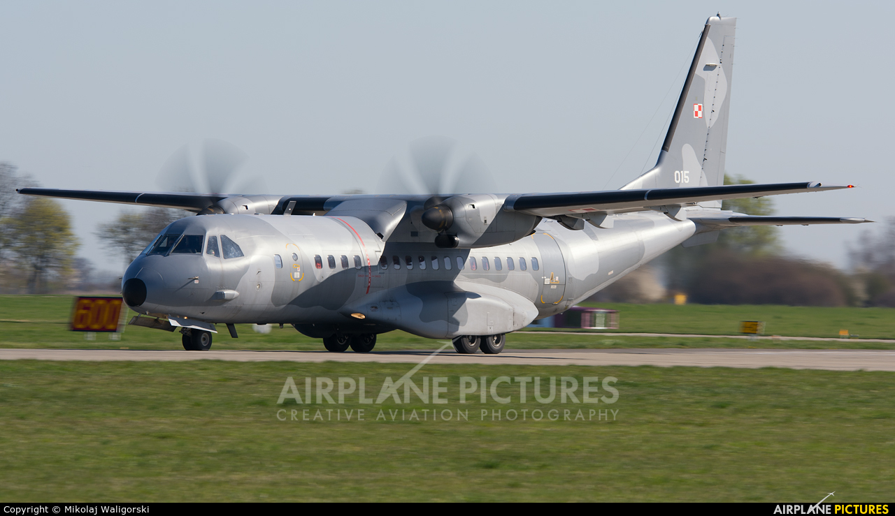 Poland - Air Force 015 aircraft at Malbork