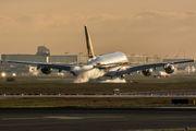 9V-SKM - Singapore Airlines Airbus A380 aircraft