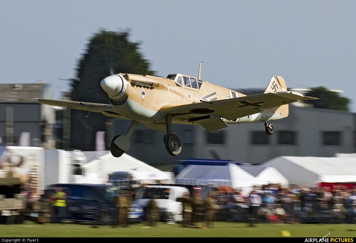 Spitfire G-AWHE aircraft at Brighton - Shoreham