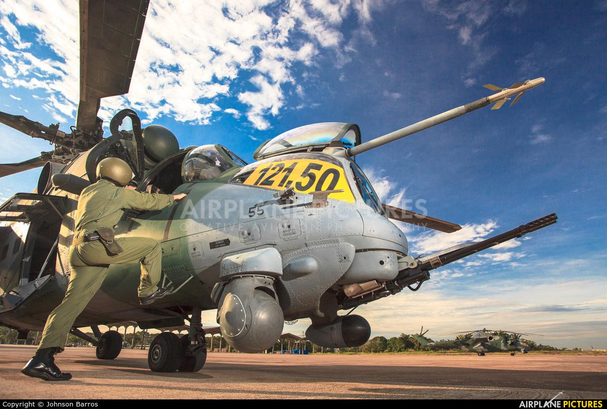 Brazil - Air Force 8955 aircraft at Porto Velho - Governador Jorge Teixeira de Oliveira