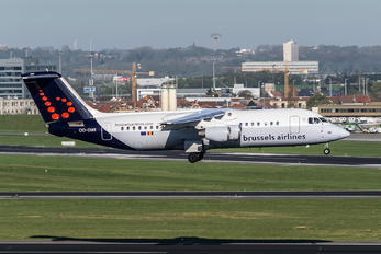OO-DWI - Brussels Airlines British Aerospace BAe 146-300/Avro RJ100