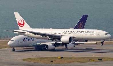 JA709J - JAL - Japan Airlines Boeing 777-200ER