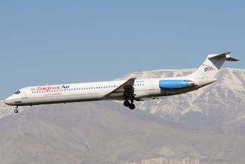 EP-ZAM - Zagros Air McDonnell Douglas MD-82