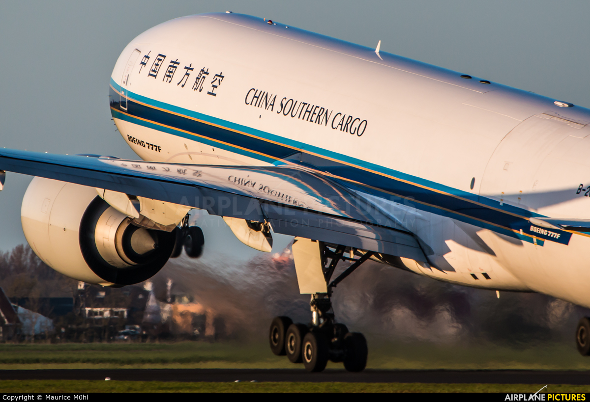 China Southern Cargo B-2042 aircraft at Amsterdam - Schiphol