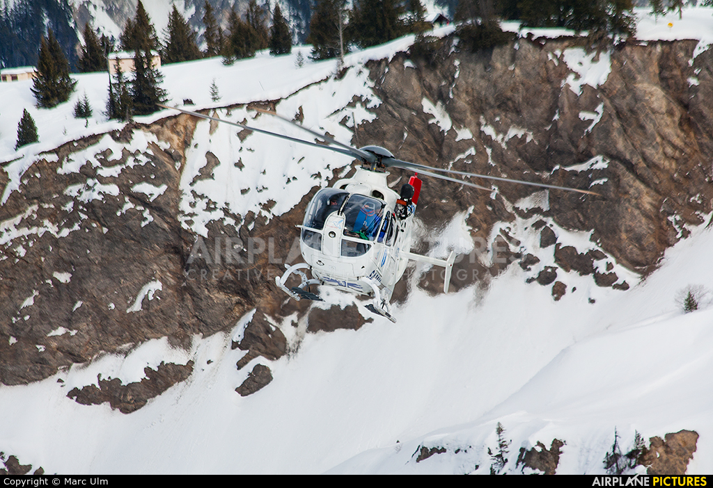 SAF Helicopteres F-GMON aircraft at Courchevel