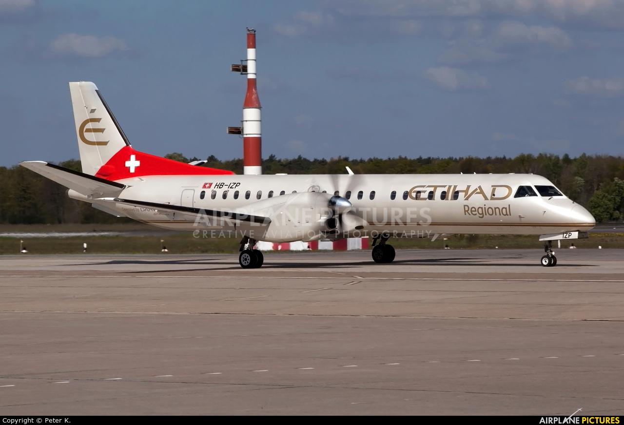 Etihad Regional - Darwin Airlines HB-IZP aircraft at Berlin - Tegel
