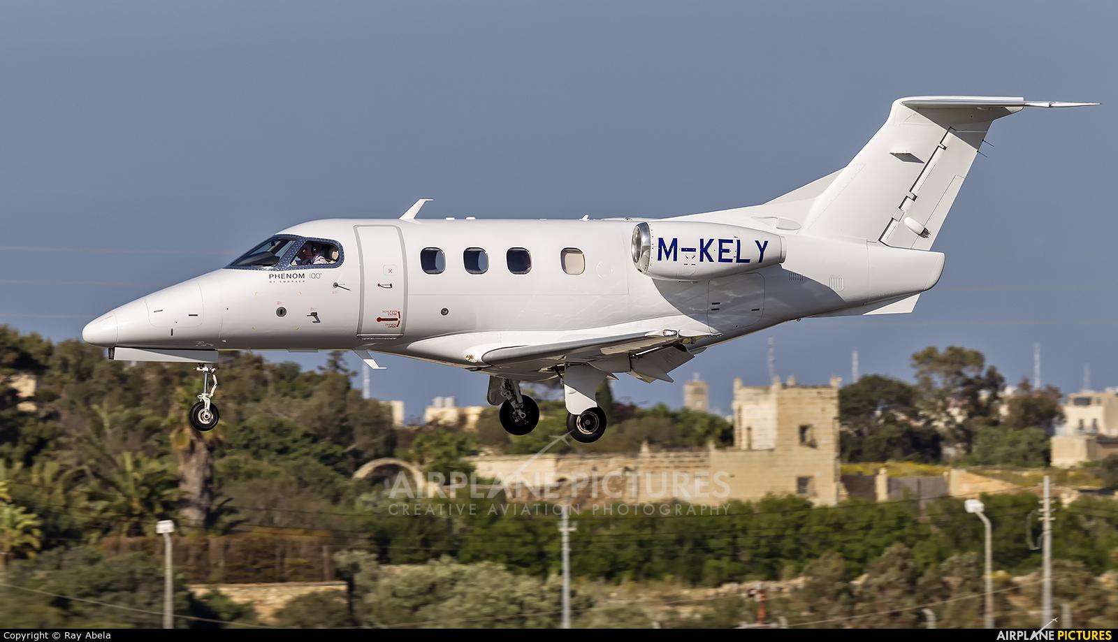 Private M-KELY aircraft at Malta Intl