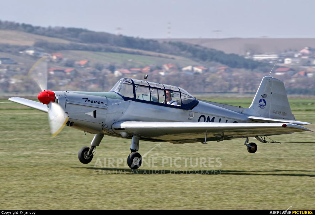 Aeroklub Nitra OM-LLO aircraft at Nitra