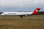 HB-JVI - Helvetic Airways Fokker 100 aircraft