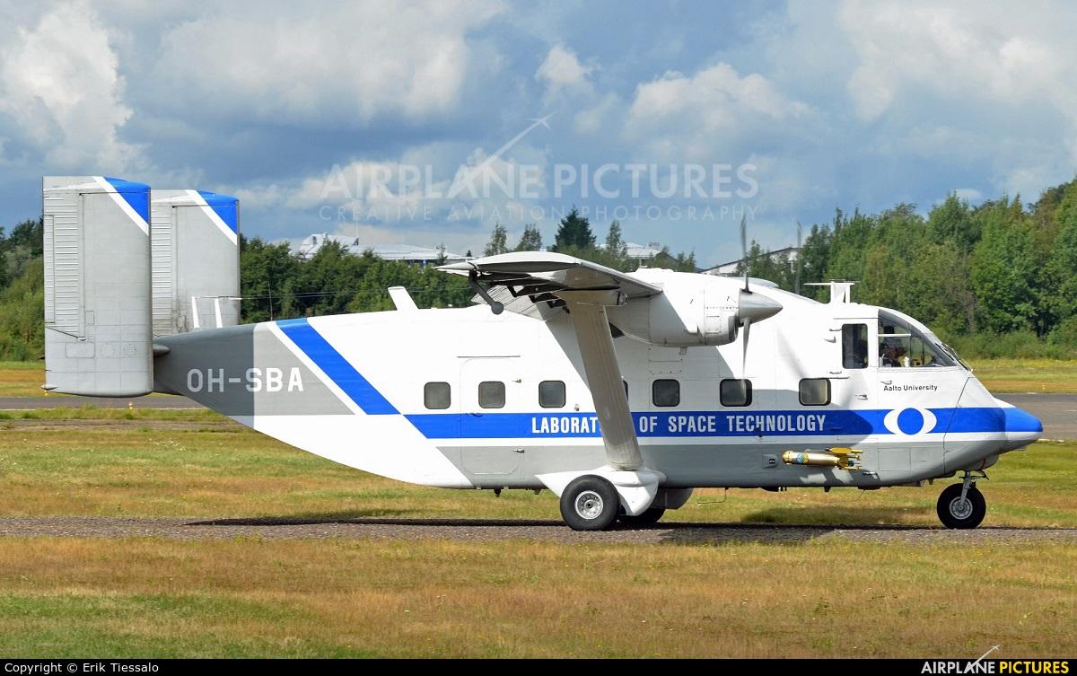 Private OH-SBA aircraft at Helsinki - Malmi