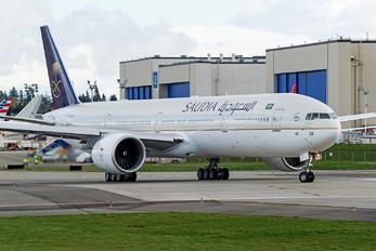 HZ-AK26 - Saudi Arabian Airlines Boeing 777-300ER