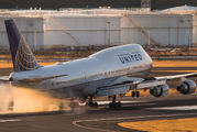 N107UA - United Airlines Boeing 747-400 aircraft