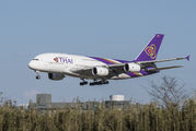 HS-TUC - Thai Airways Airbus A380 aircraft