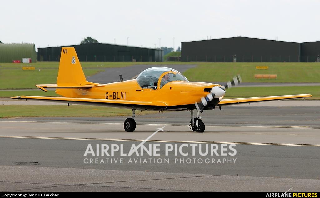 Private G-BLVI aircraft at Waddington
