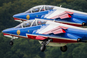 "E46 - France - Air Force ""Patrouille de France"" Dassault - Dornier Alpha Jet E"
