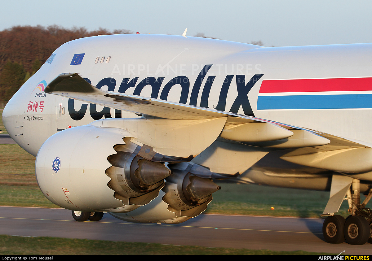 Cargolux LX-VCJ aircraft at Luxembourg - Findel
