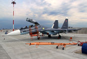 57 - Russia - Air Force Sukhoi Su-30SM aircraft