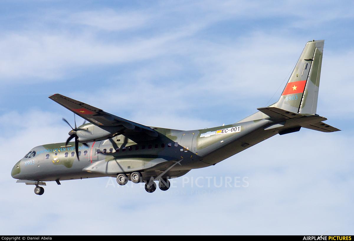Vietnam - Air Force 8903 aircraft at Malta Intl