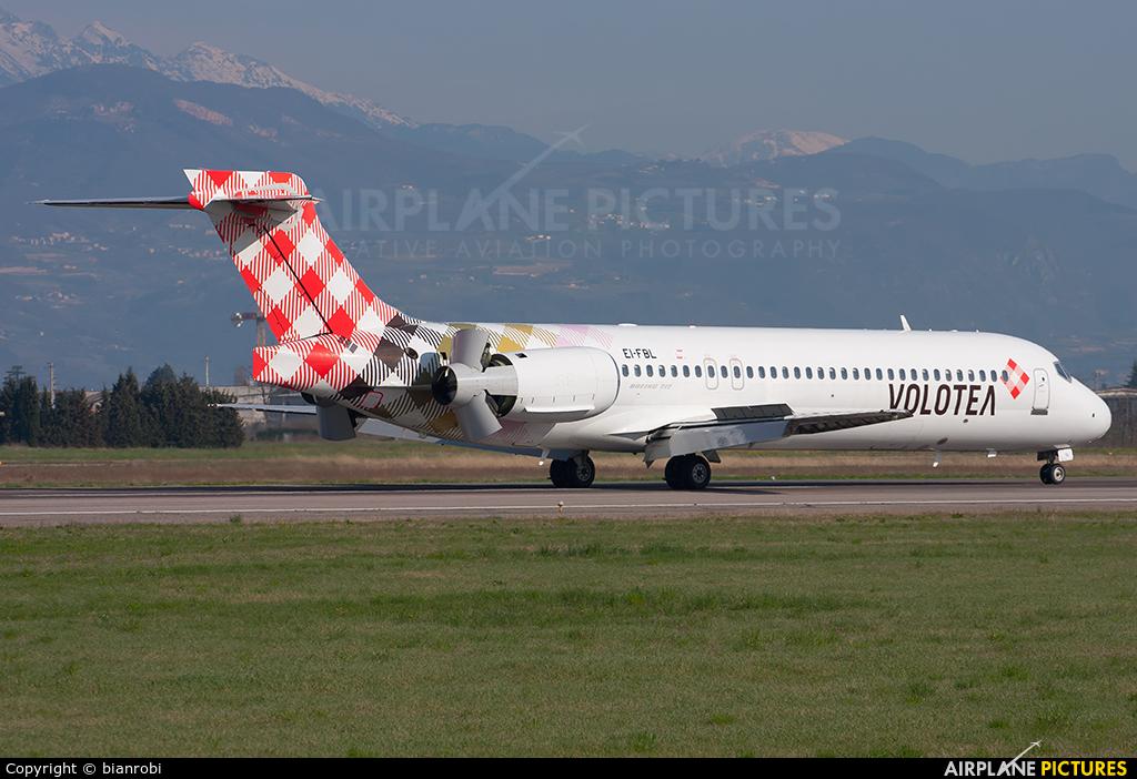 Volotea Airlines EI-FBL aircraft at Verona - Villafranca