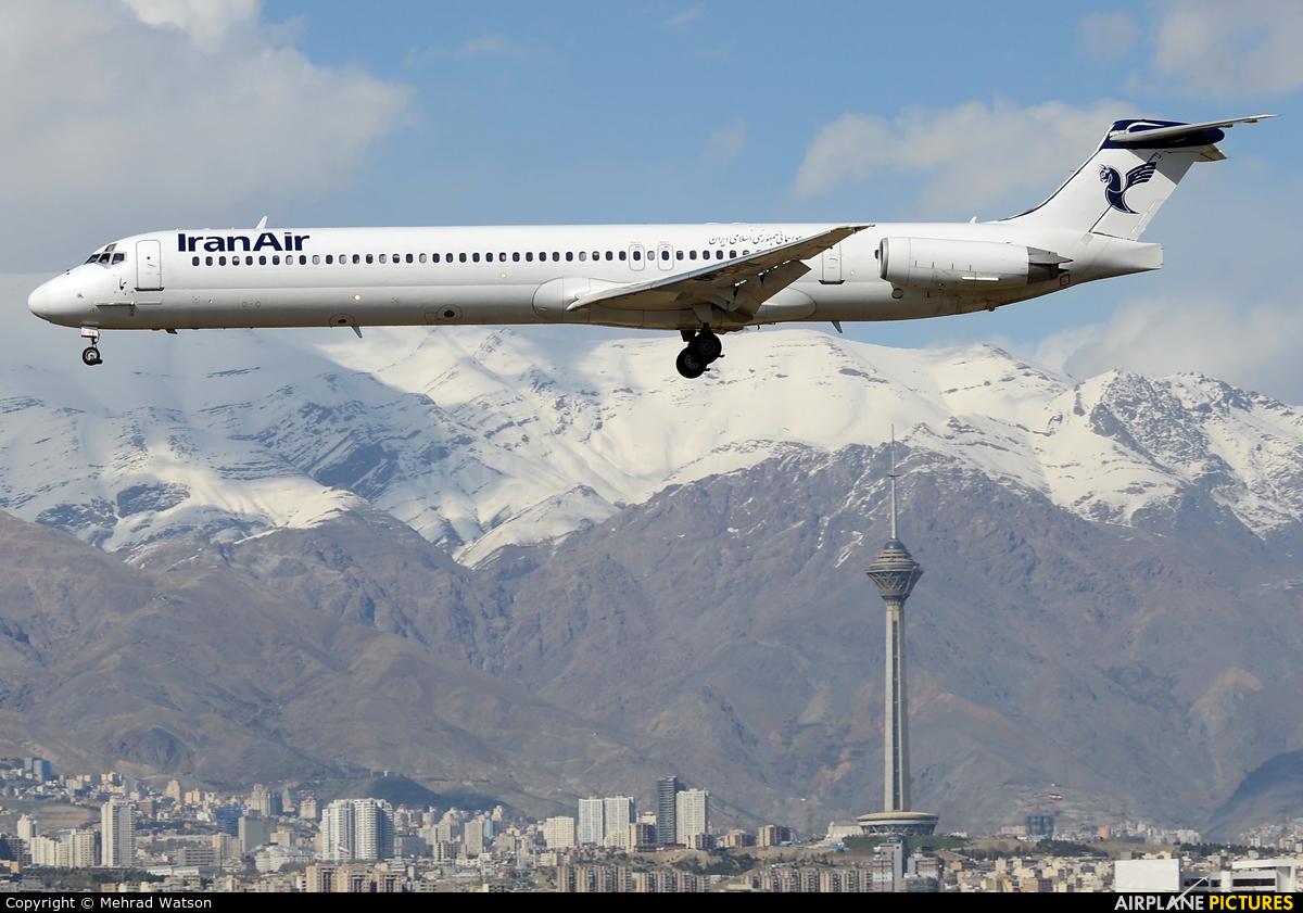 Iran Air UR-CHW aircraft at Tehran - Mehrabad Intl