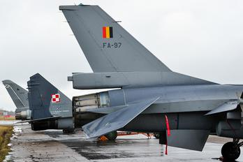 FA-97 - Belgium - Air Force General Dynamics F-16A Fighting Falcon