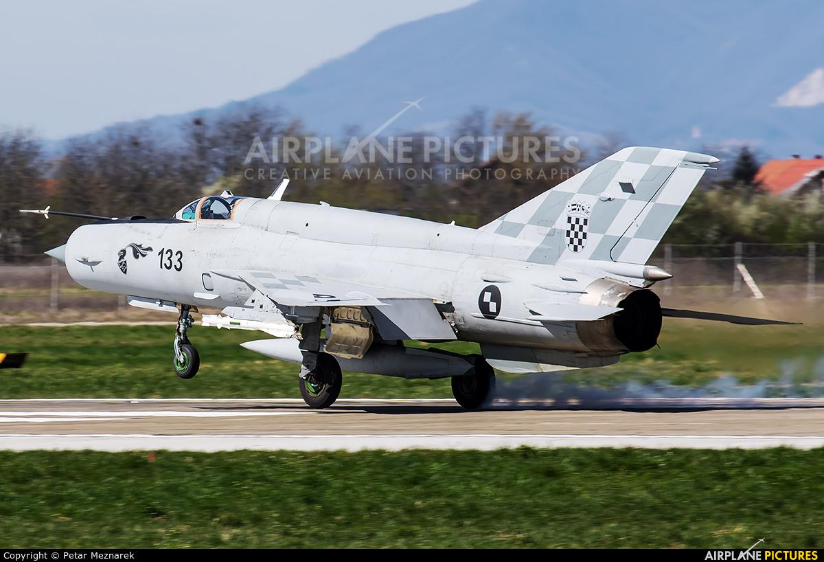 Croatia - Air Force 133 aircraft at Zagreb