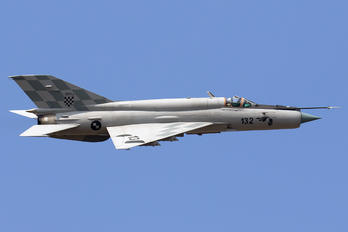 132 - Croatia - Air Force Mikoyan-Gurevich MiG-21bisD