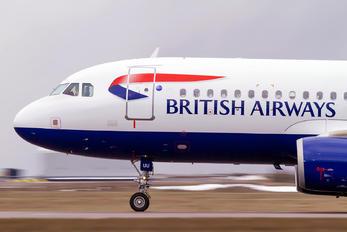 G-EUUU - British Airways Airbus A320
