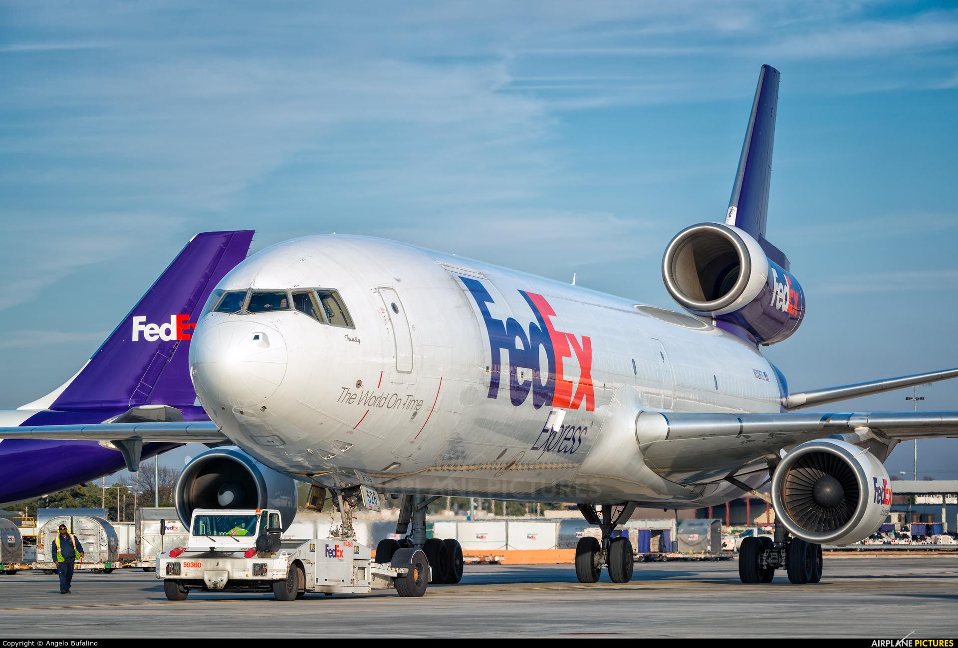 FedEx Federal Express N528FE aircraft at Memphis Intl