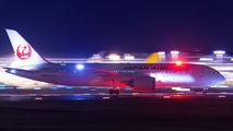 JA834J - JAL - Japan Airlines Boeing 787-8 Dreamliner aircraft