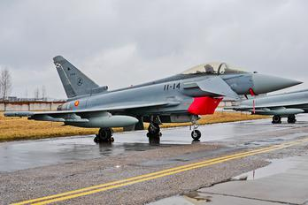 11-14 - Spain - Air Force Eurofighter Typhoon S
