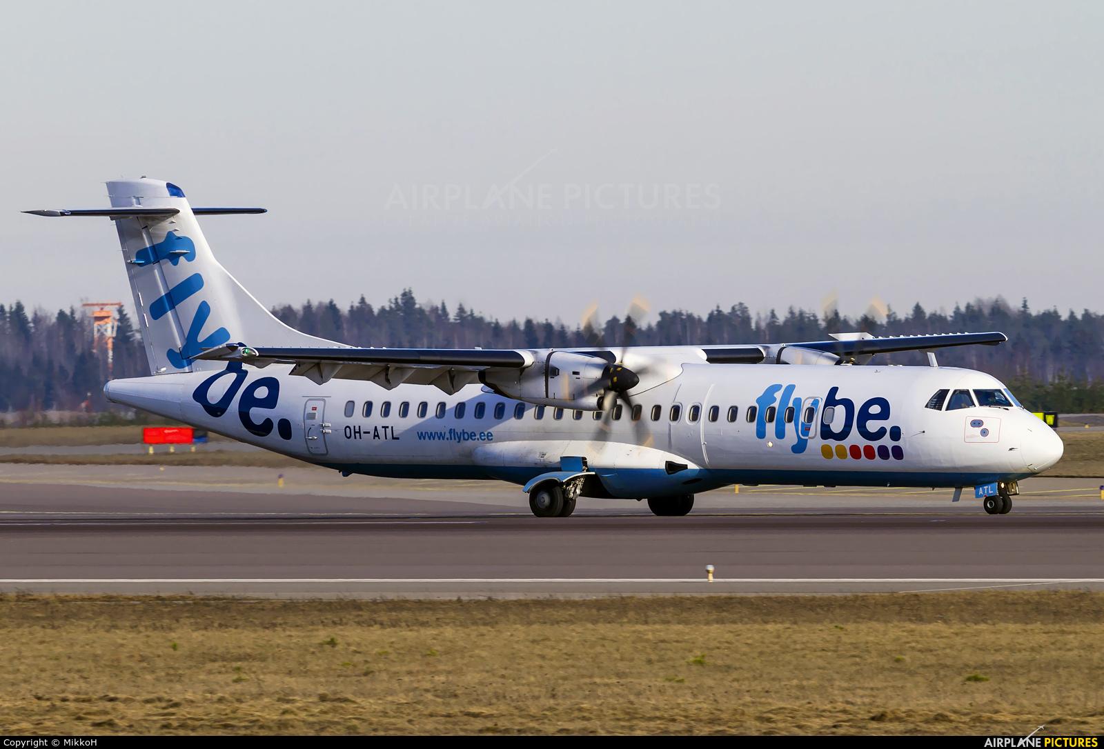 FlyBe Nordic OH-ATL aircraft at Helsinki - Vantaa