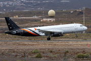G-POWI - Titan Airways Airbus A320 aircraft