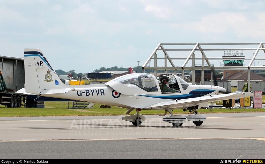 VT Aerospace G-BYVR aircraft at Waddington