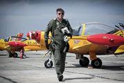 "ST-35 - Belgium - Air Force ""Hardship Red"" SIAI-Marchetti SF-260 aircraft"
