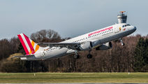 D-AIQD - Germanwings Airbus A320 aircraft