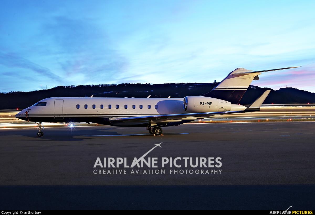 Arab Wings P4-PIF aircraft at Bern - Belp
