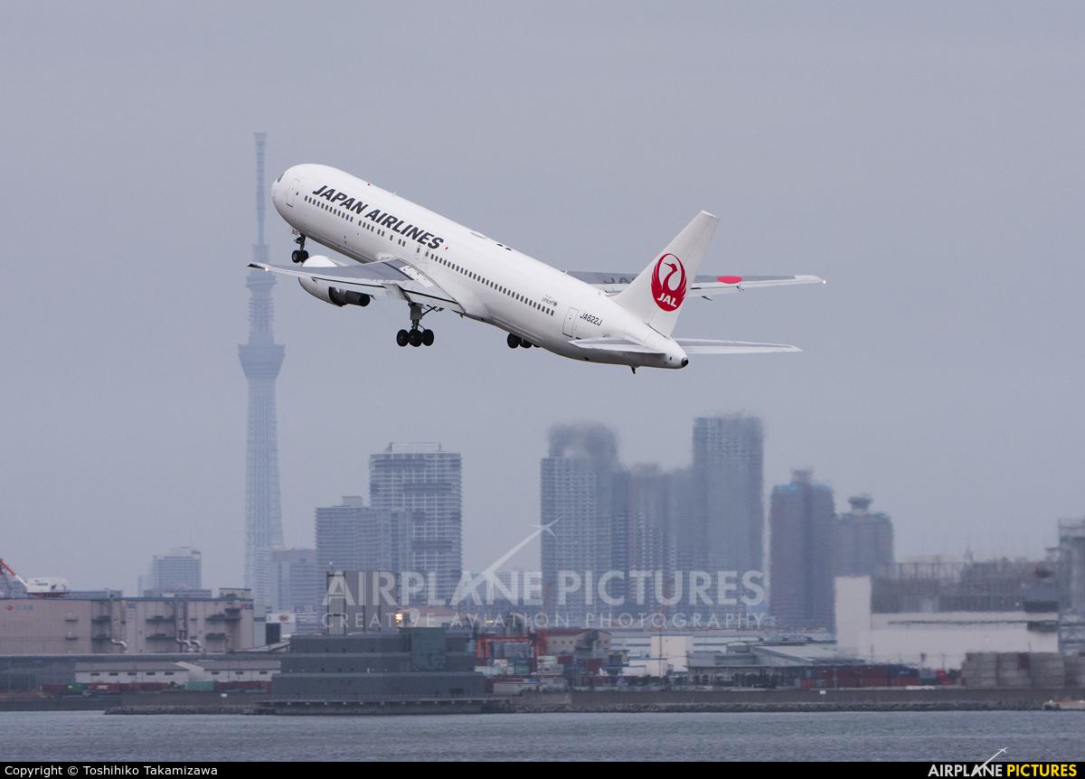 JAL - Japan Airlines JA622J aircraft at Tokyo - Haneda Intl