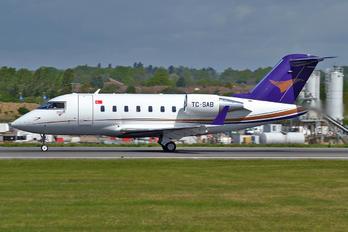 TC-SAB - Doysa Air Canadair CL-600 Challenger 605
