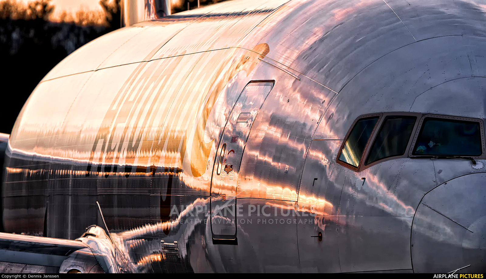 AeroLogic D-AALF aircraft at Frankfurt