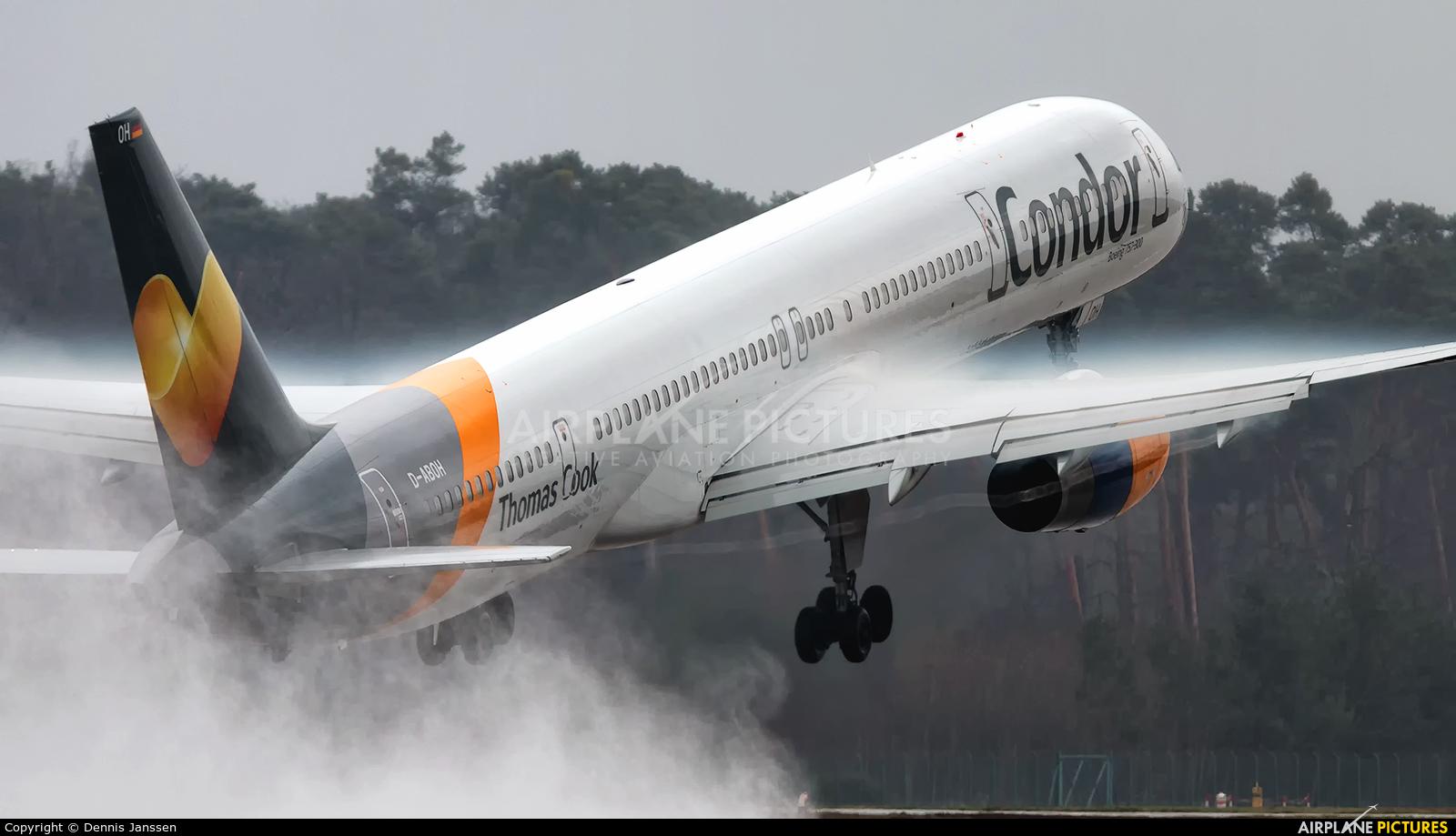 Condor D-ABOH aircraft at Frankfurt